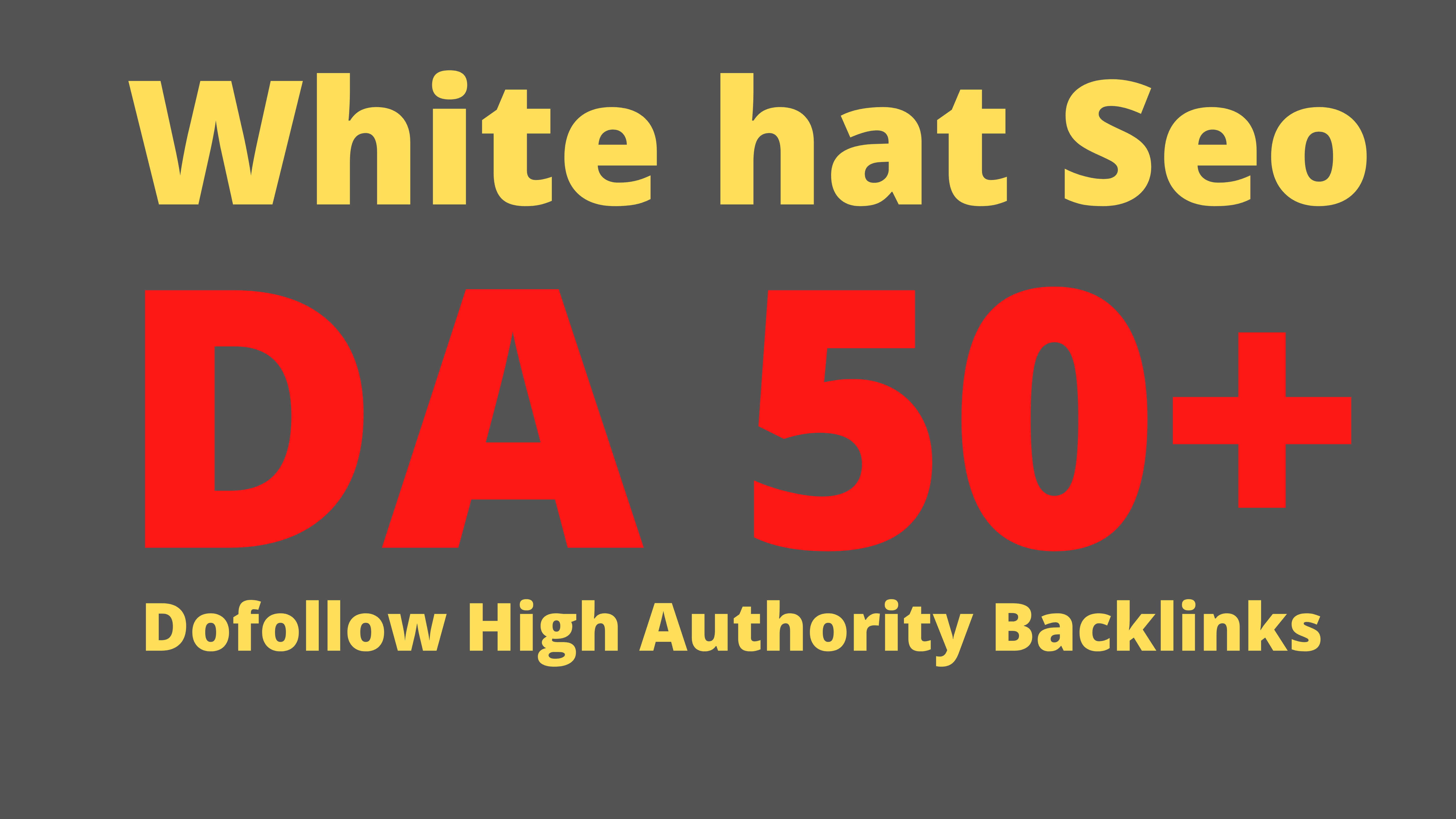 I will build the ultimate 30 white hat on high authority sites dofollow off page seo backlinks