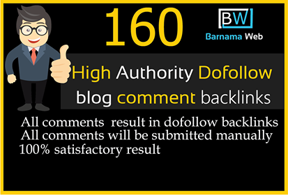 I will create 160 dofollow seo backlink high quality less then obl