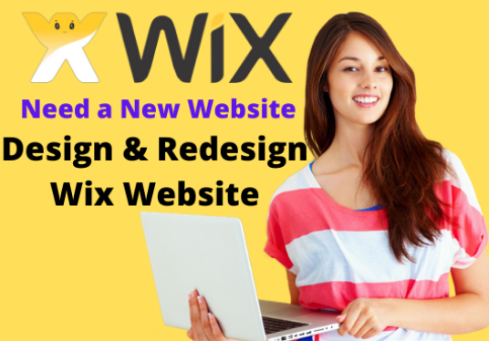I will design and redesign professional wix website