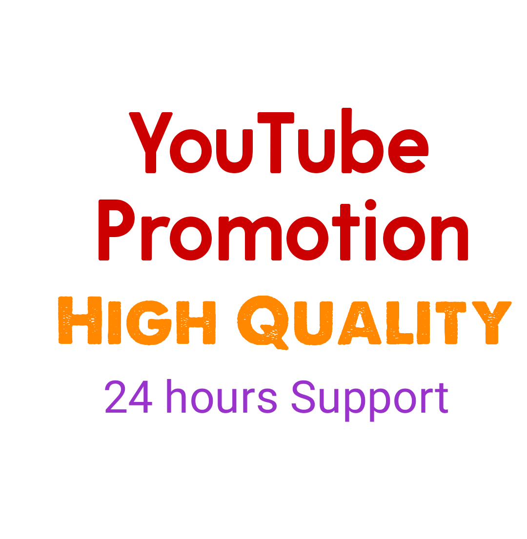 Manually High Quality YouTube Promotion Instan Start