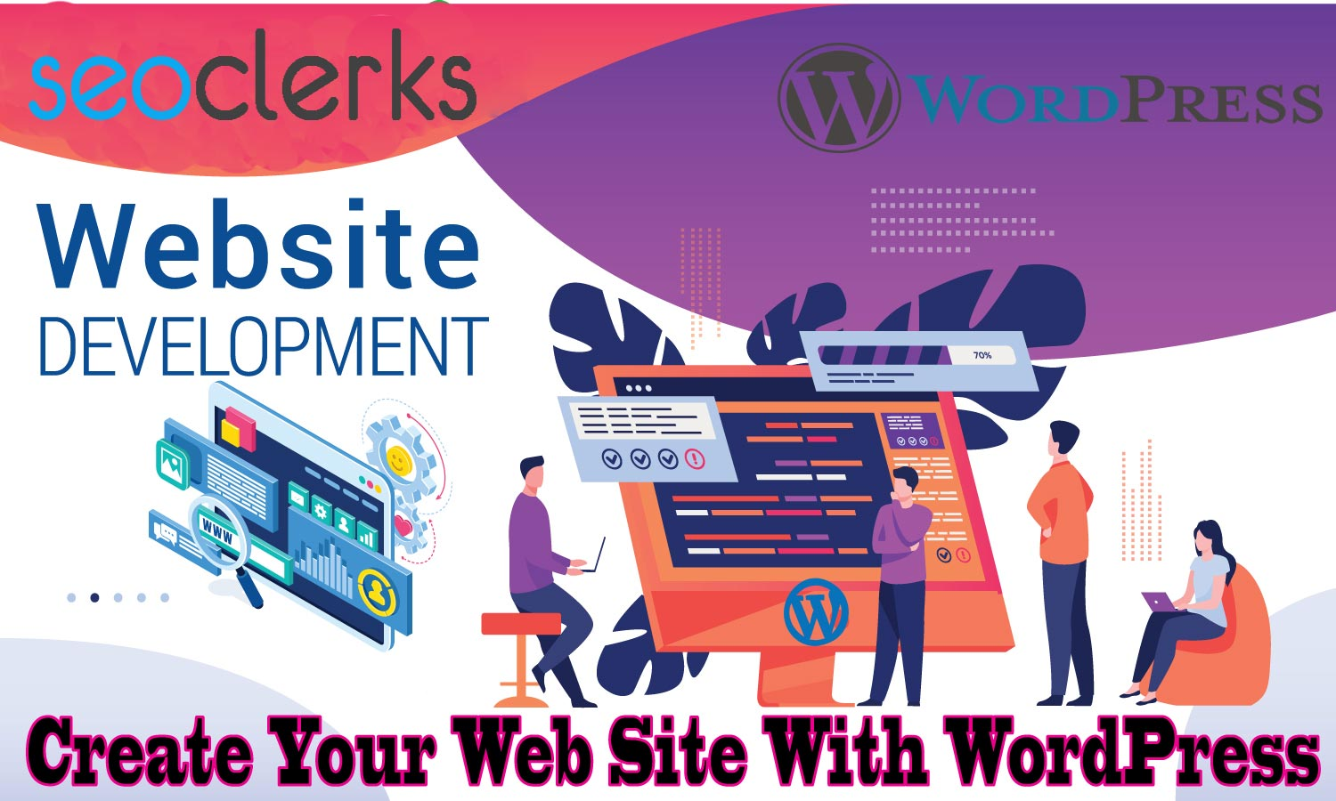 I will build WordPress websites,  design,  development,  and customization