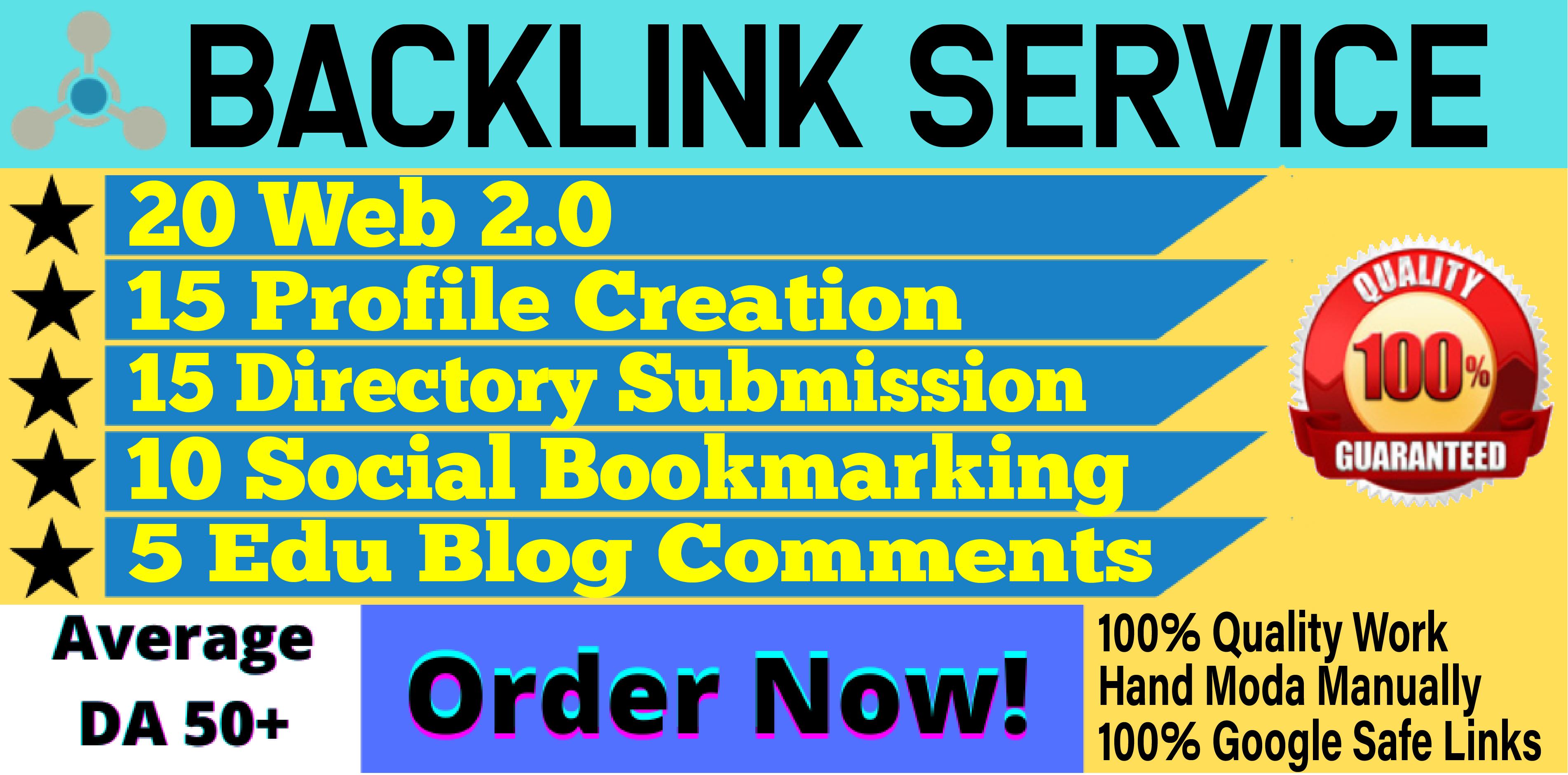 Top Ranking SEO Service - 65 Whitehat Authority Backlinks