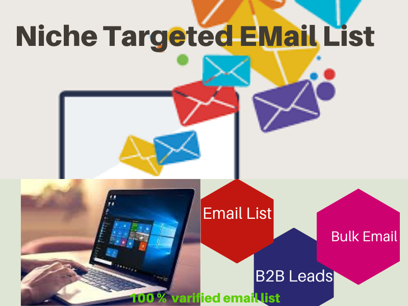 I will provide niche 1k targeted email list