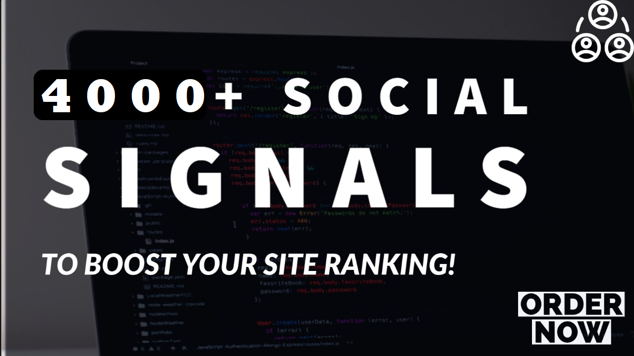 manullay done 4000 mixed social signals backlink,  top 6 media sites