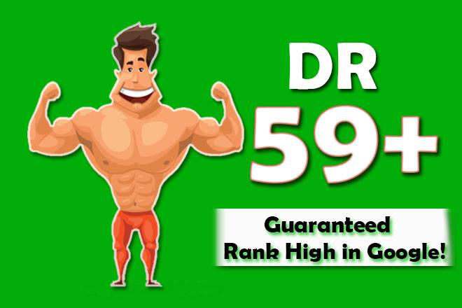 Sky Rocket your domain rating DR ahrefs to 55 plus guaranteed in 12 days