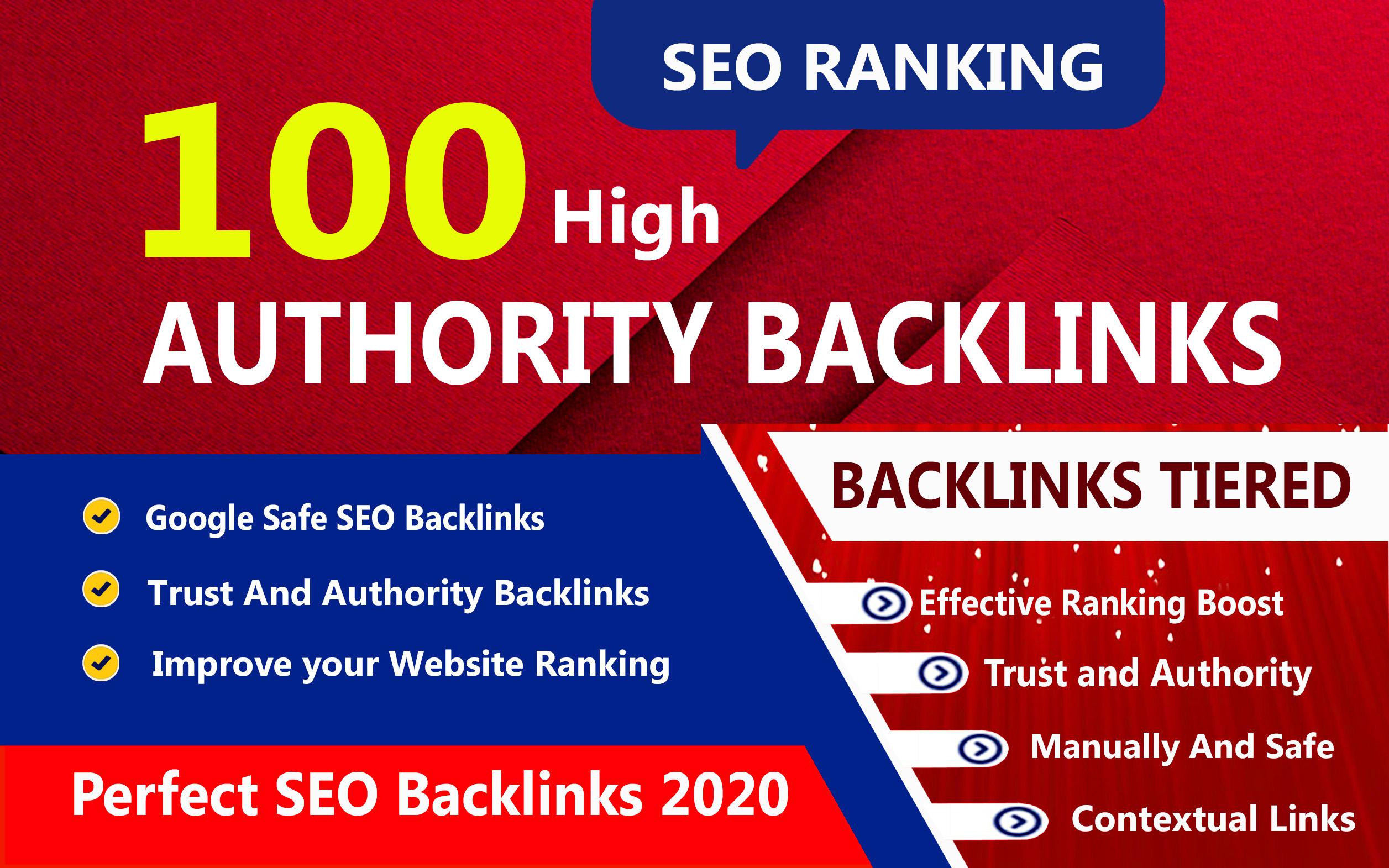 Manual create 100 Backlinks On High Domain Authority Sites Da 50