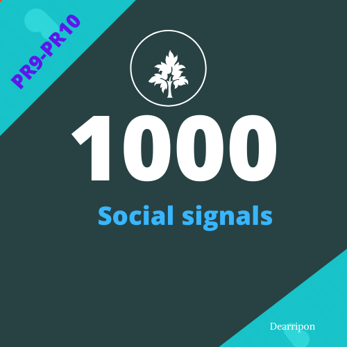 Create Manually 1000 Drip Feed Fast Speed And HQ Social Signals