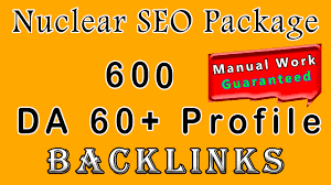 Create Nuclear Package Boost Your Site's Ranking With 600 Permanent SEO Profile Backlinks Manually