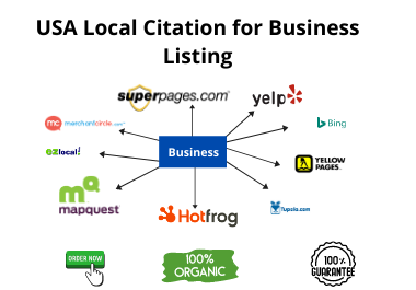 I will create 25 USA local citation for business listing
