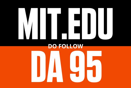 DA 95 strong mit edu Guest post