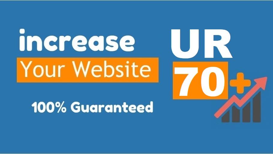 increase Ahrefs URL Rating UR 70 pulse Or Money refund