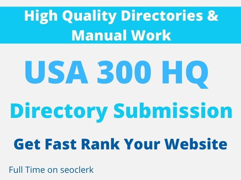 I will do 100 USA citations and directory submissions backlink with high DA PA site