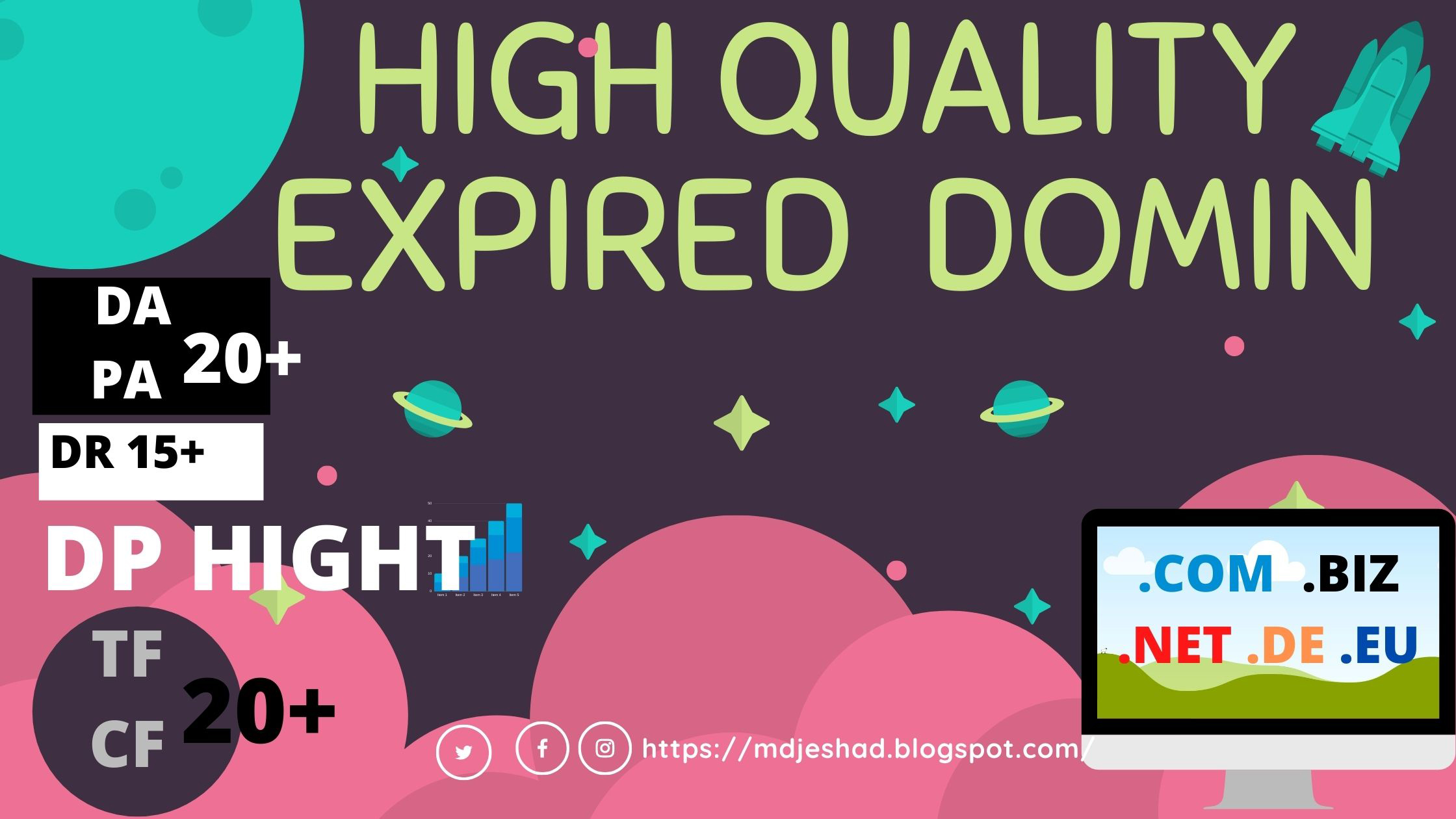 I will Find guaranteed Niche Related High-Quality Expired Domain