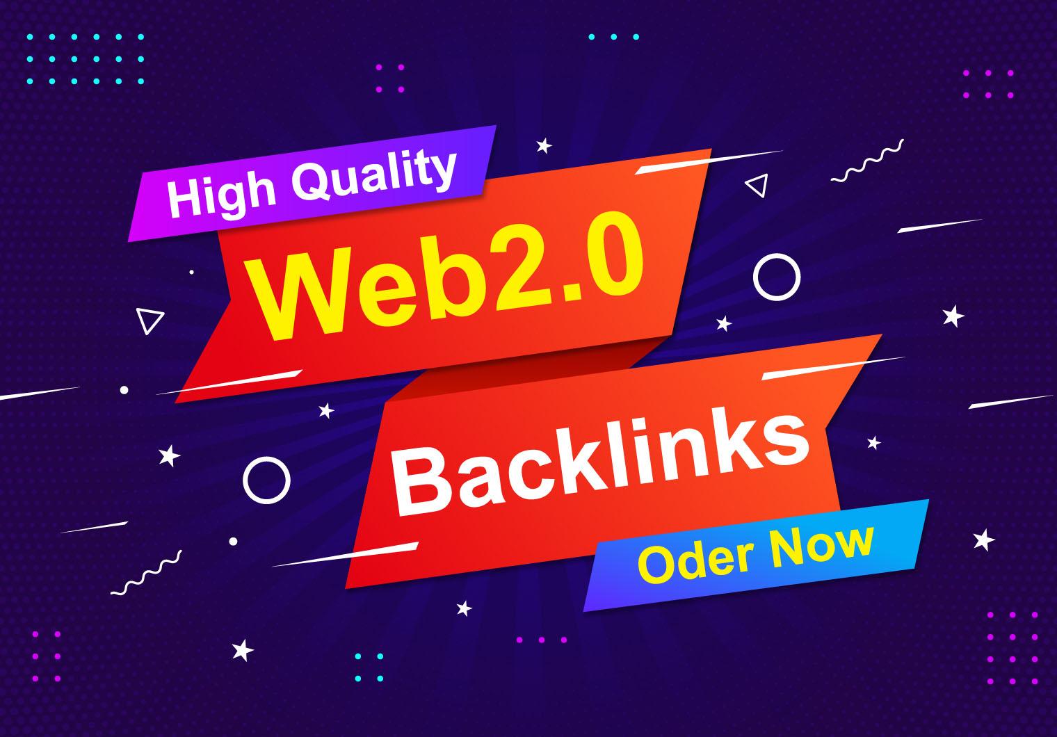 I will Build 30 Skyrocket Web 2.0 Contextual Backlinks