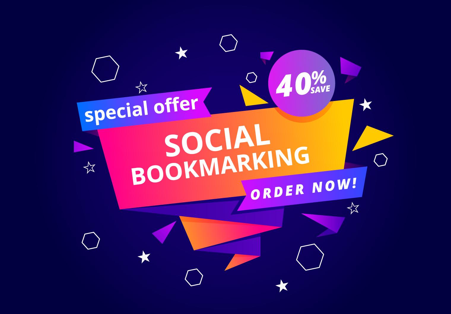 I Will Create Manually 50 High PR Social Bookmarking SEO Backlinks