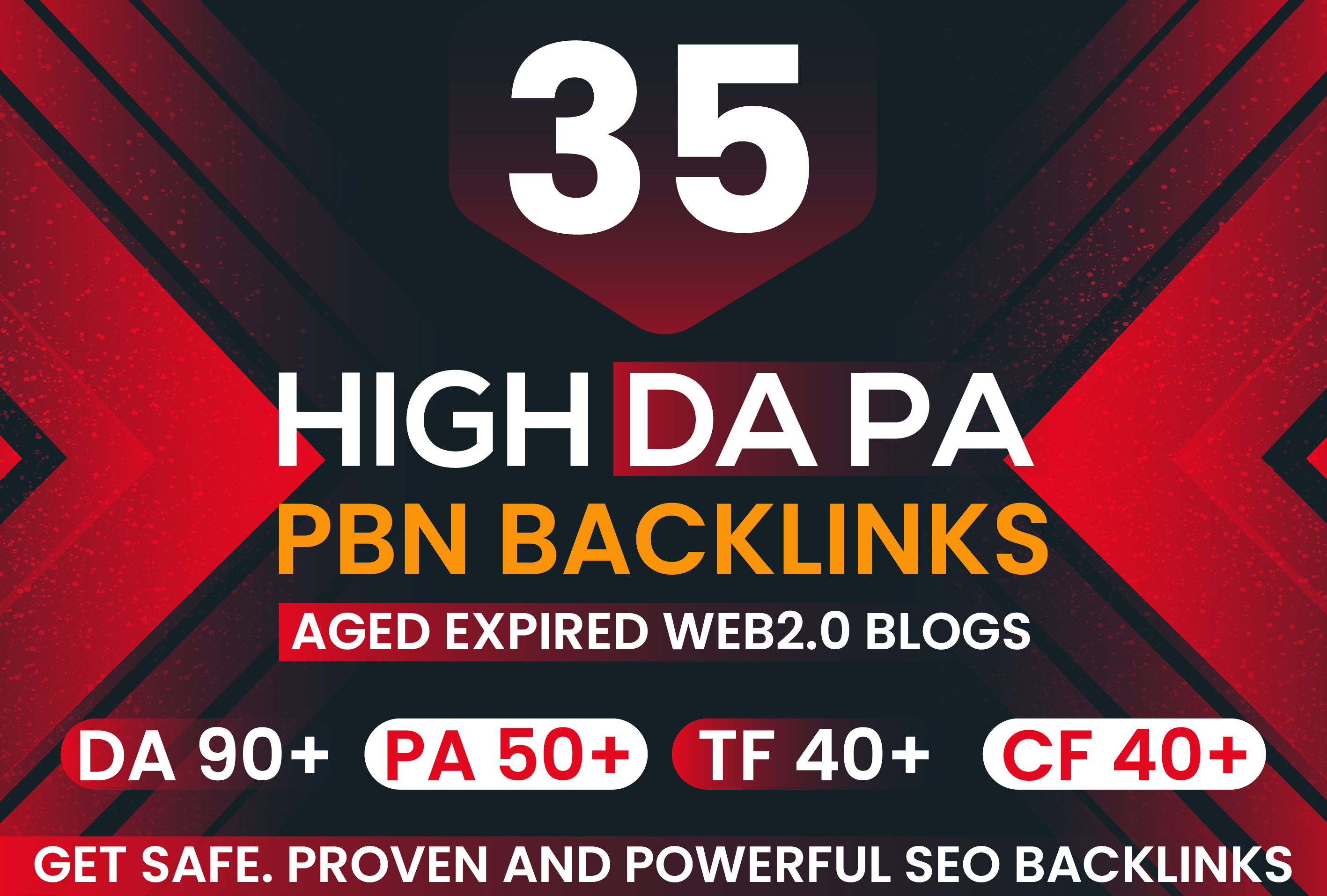 Post 35 HIGH PBN Backlink Web2 with High DA/PA/TF/CF