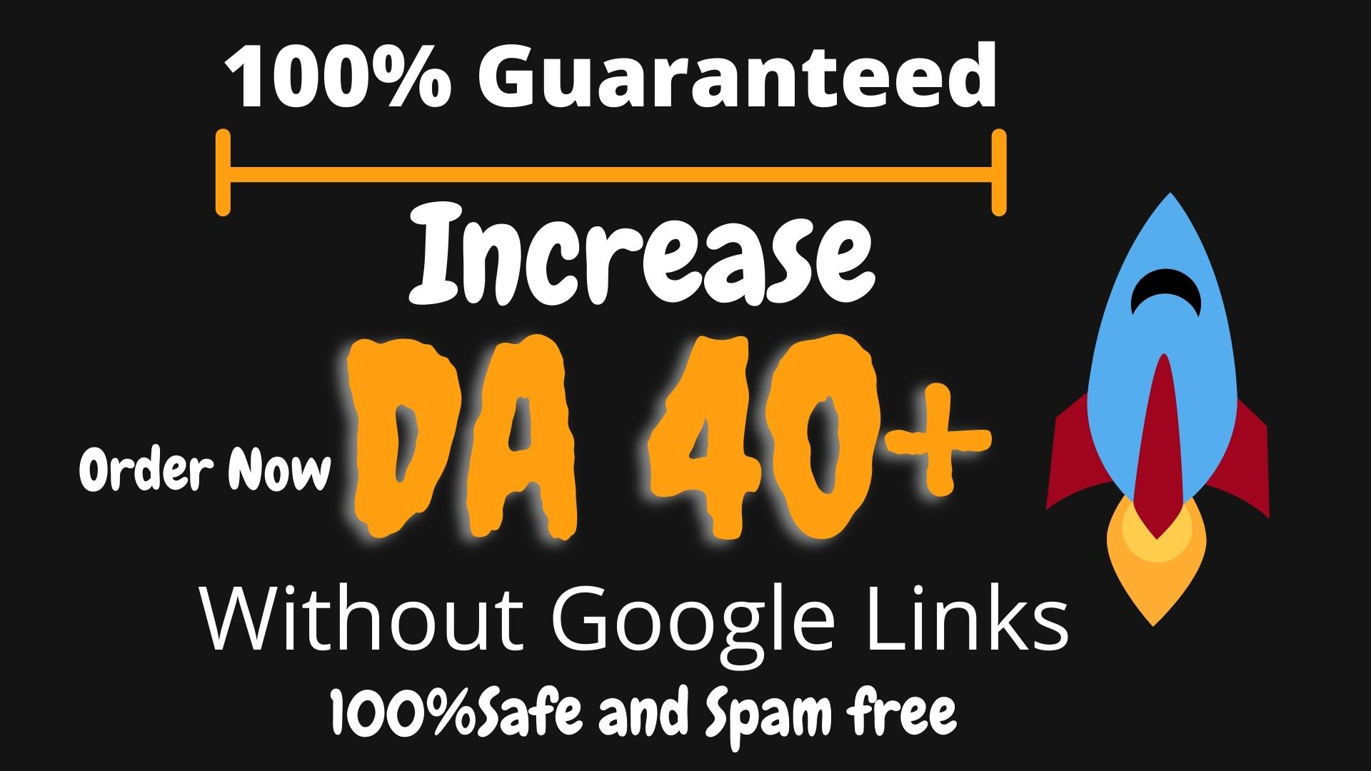 I Will Increase Your DA 40 without 301