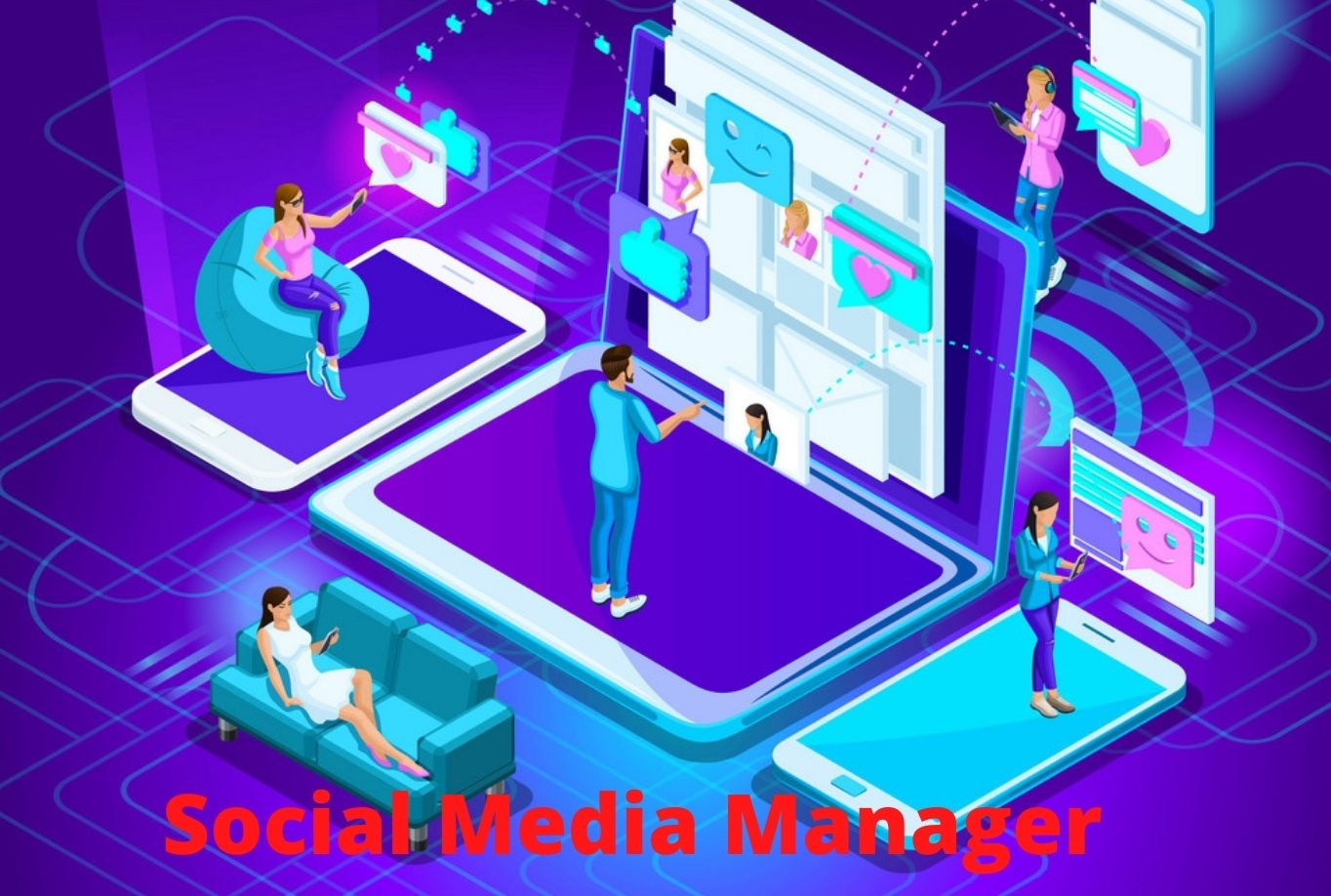I will be your professional social media marketing manager and ads campaigner