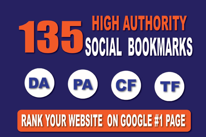 Create Manually 135 High Quality Social Bookmarks For SEO Ranking