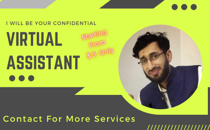 I will be your virtual assistant for file conversion,  data entry or any other work