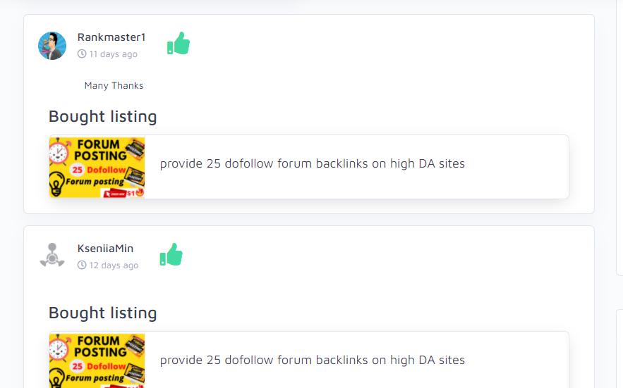 provide 25 dofollow forum backlinks on high DA sites