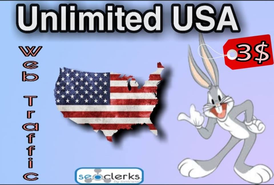 Drive 6000+ Real human traffic from the U.S.A