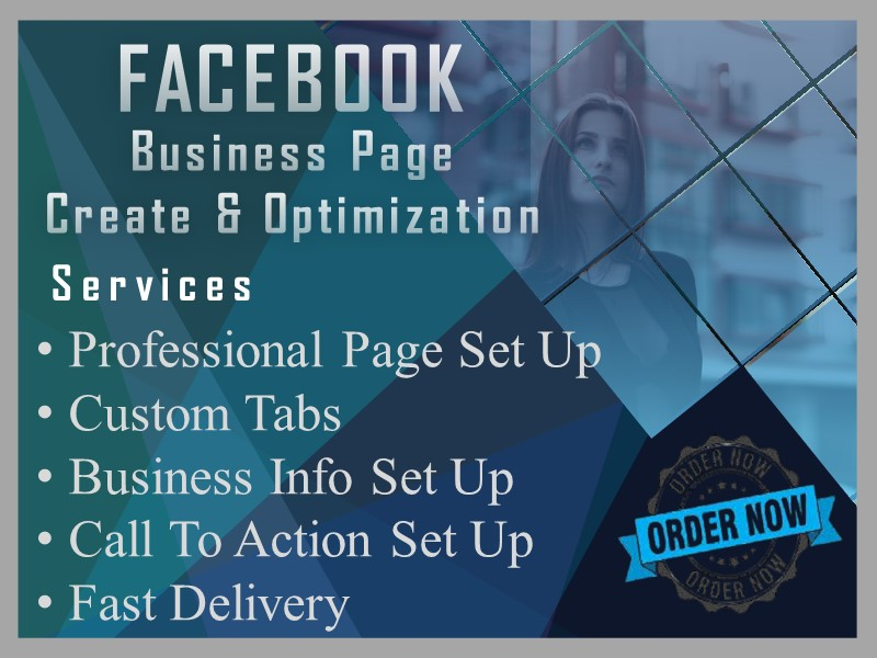 I Will Create, Setup, and Publish your Facebook Business Page