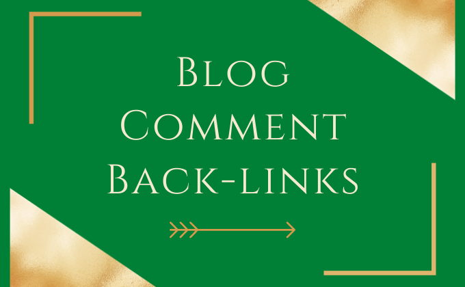 I Will Create Manually High Quality Niche Relevant Blog Comment Backlinks