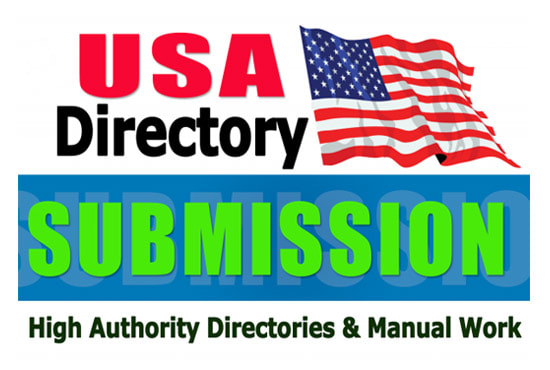 I will create 100 USA directory submission SEO backlinks