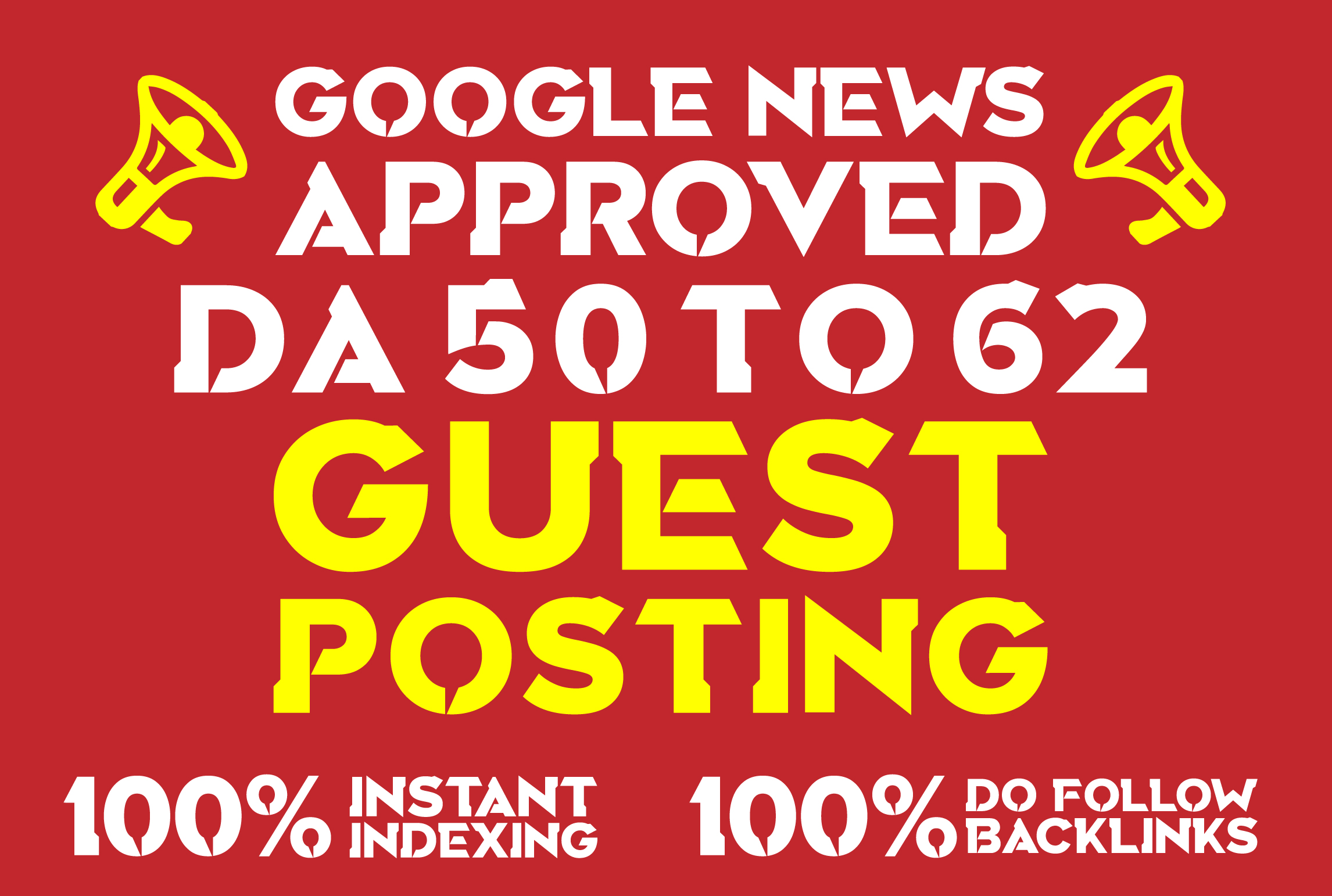 i will do guest posting on my google news approved website with DA 50+