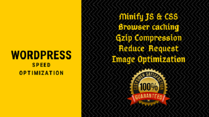 i will do speed optimization of Wordpress Website Professionally
