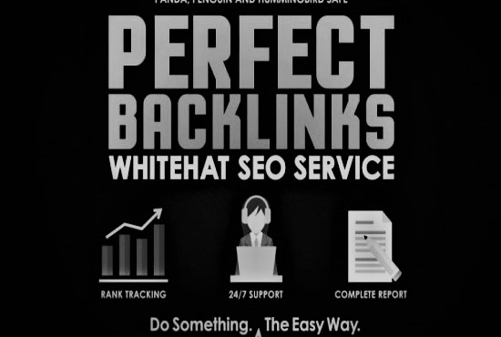 I will build high quality authority dofollow backlinks seo link building