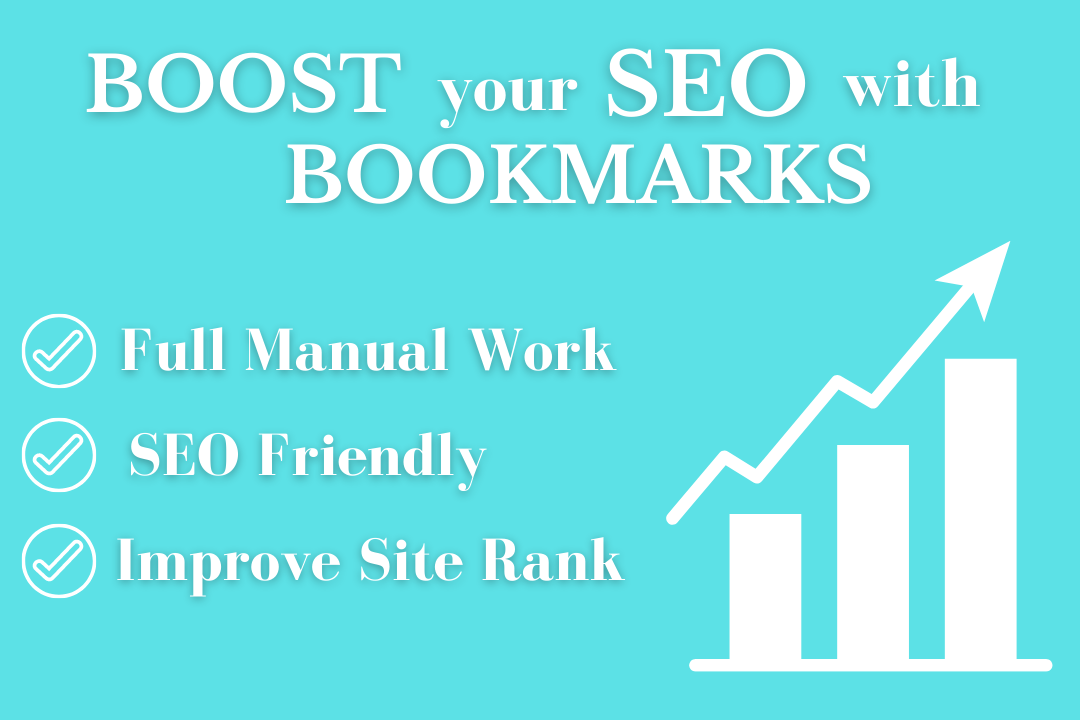 I will manually build 100 social bookmarks submissions