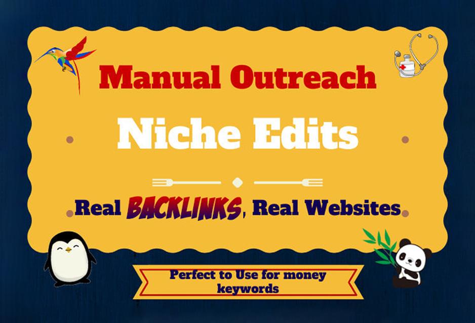 blogger outreach for high quality SEO backlinks link building service