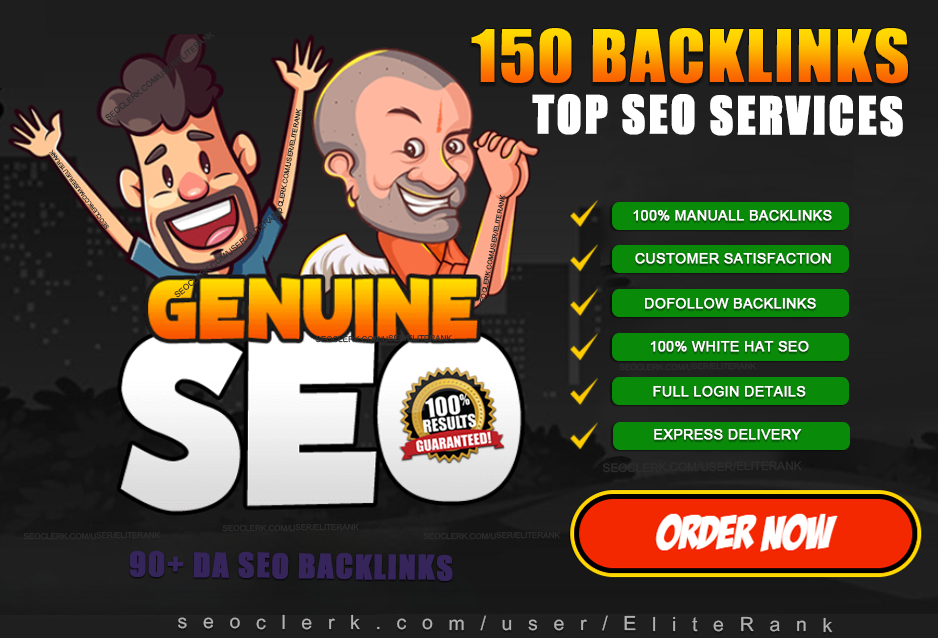 build 150 high quality dofollow SEO backlinks link building google top ranking