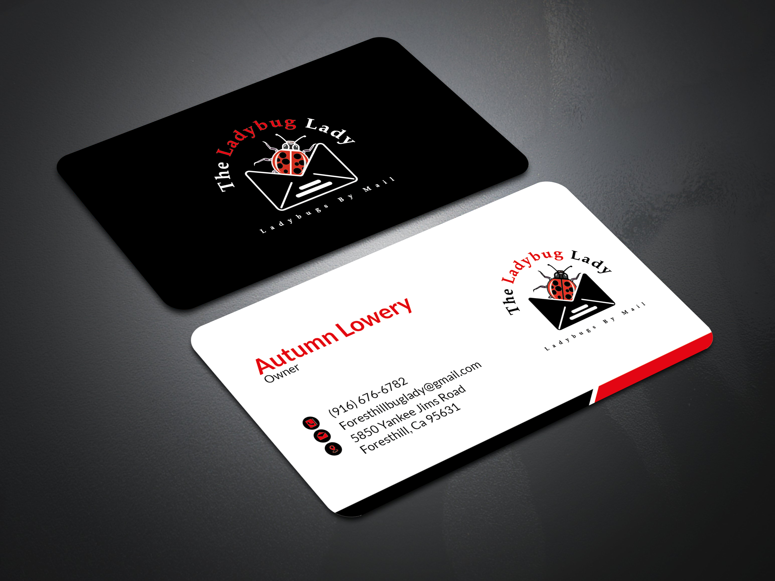 I will do professional businesscard design