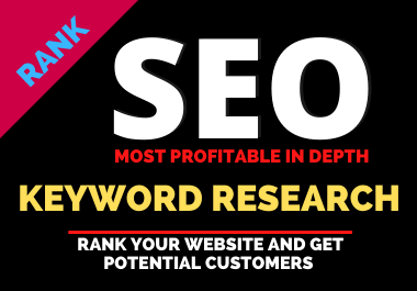 I will do Excellent SEO keyword research and In-depth competitor analysis