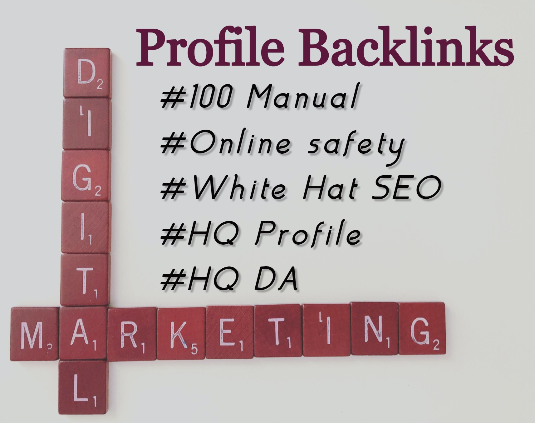 I Will Create 80 Top Quality SEO Profile Backlinks