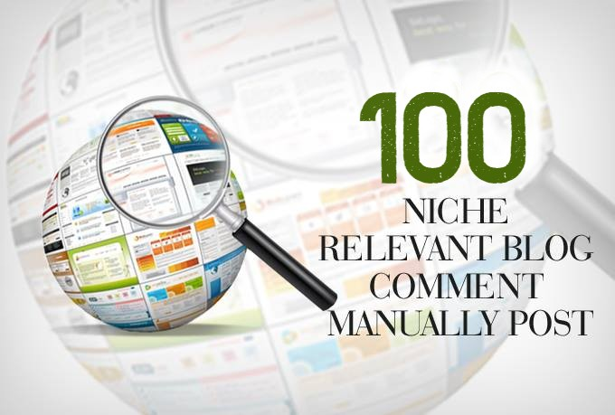 I Will Create 100 High-Quality Niche Relevant Blog Comments Backlinks