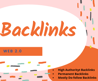 I am Offering 40 High Quality Web 2.0 Backlinks Services.