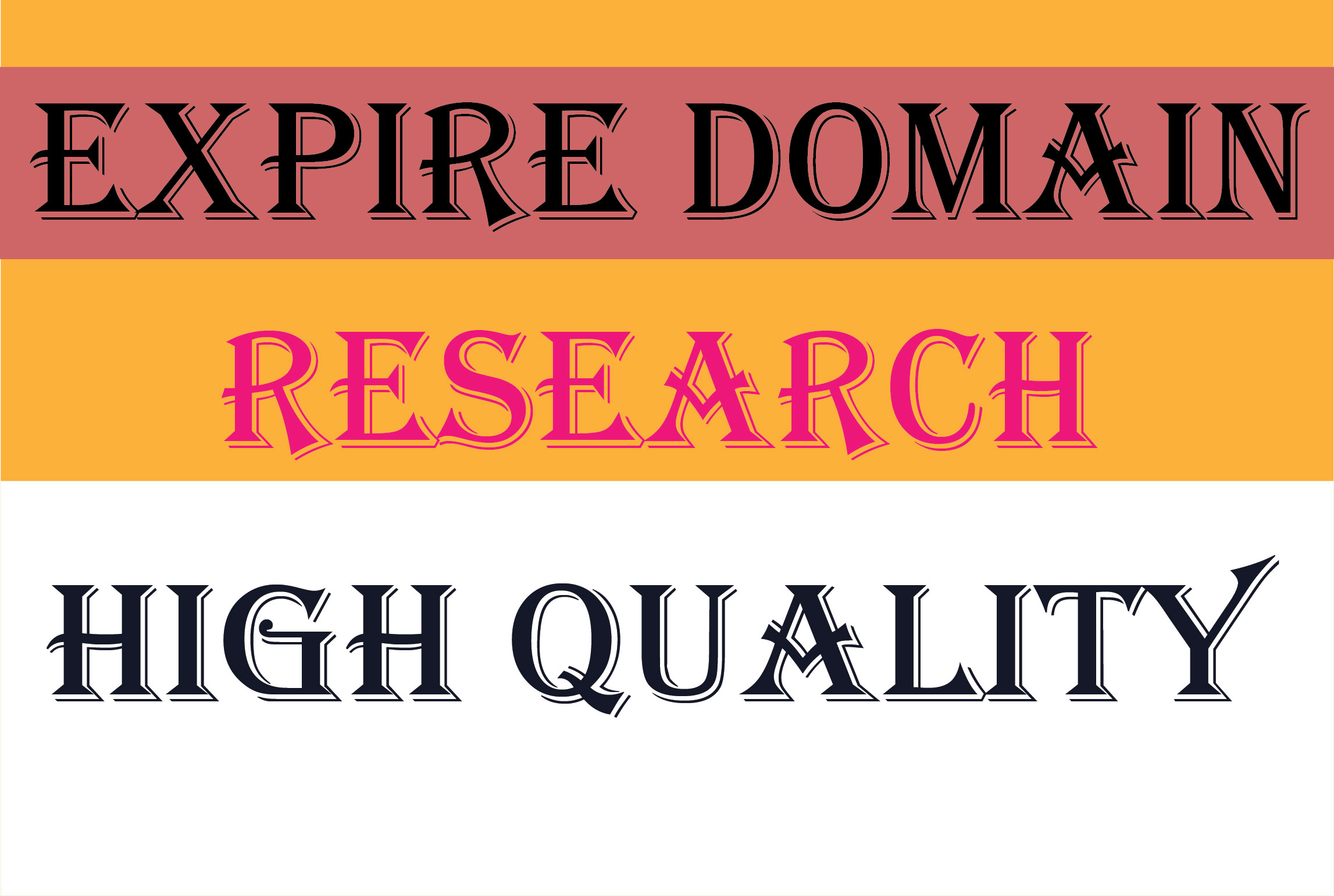 Offer Niche Relevent Expire Domain