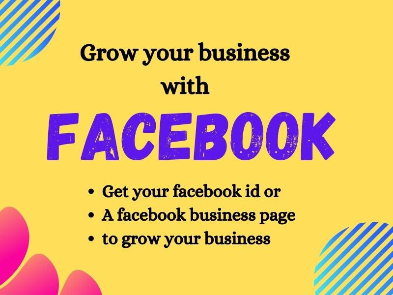 I will create Facebook id or business page for you