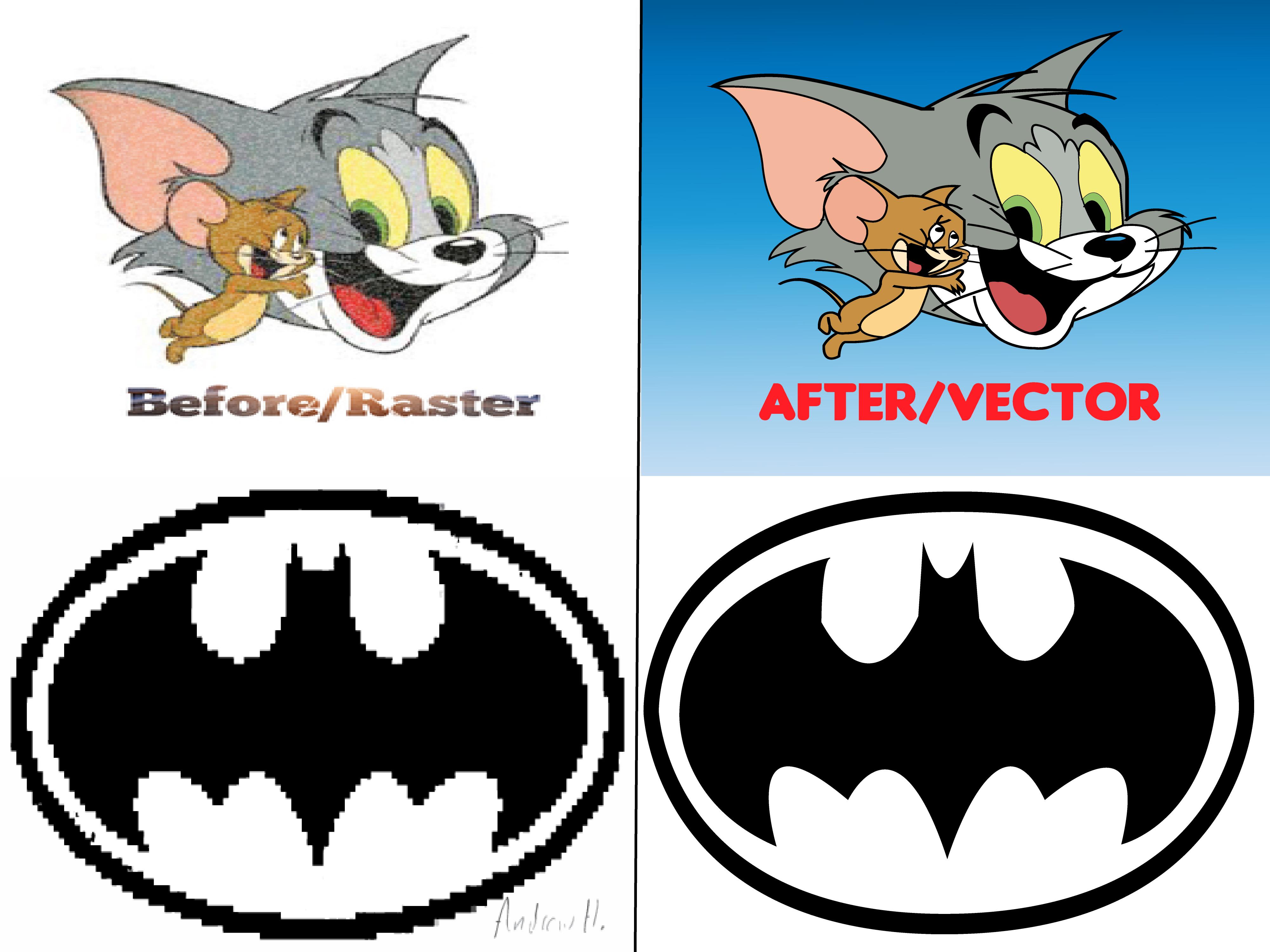 I will vectorise raster logo image