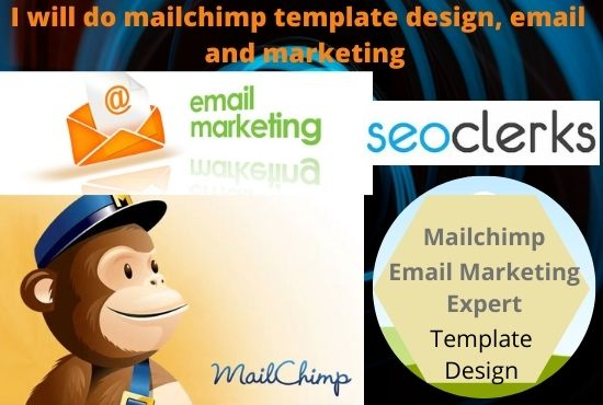 I will do mailchimp template design and email marketing