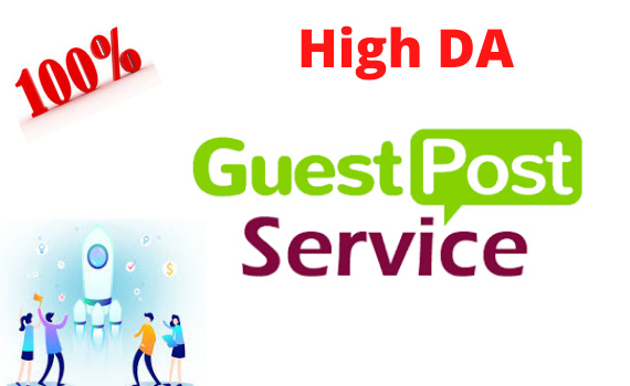 Publish niche organic guest post on high authority sites