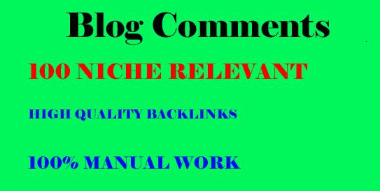 101 niche relevant blog comments