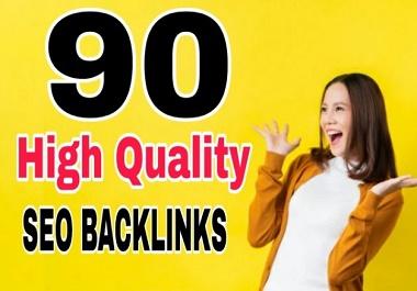 I will provide 90 high pr pr9 seo dofollow backlinks, link building