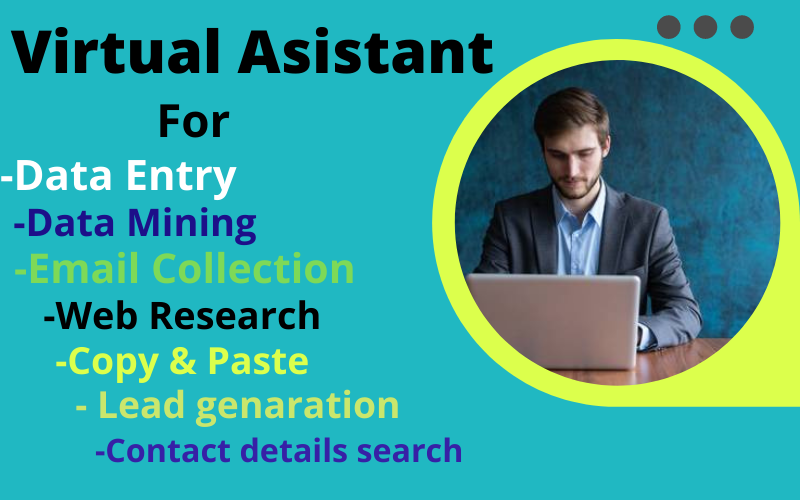 I will do perfect data entry, web research,  copy paste,  web scraping and excel data entry.