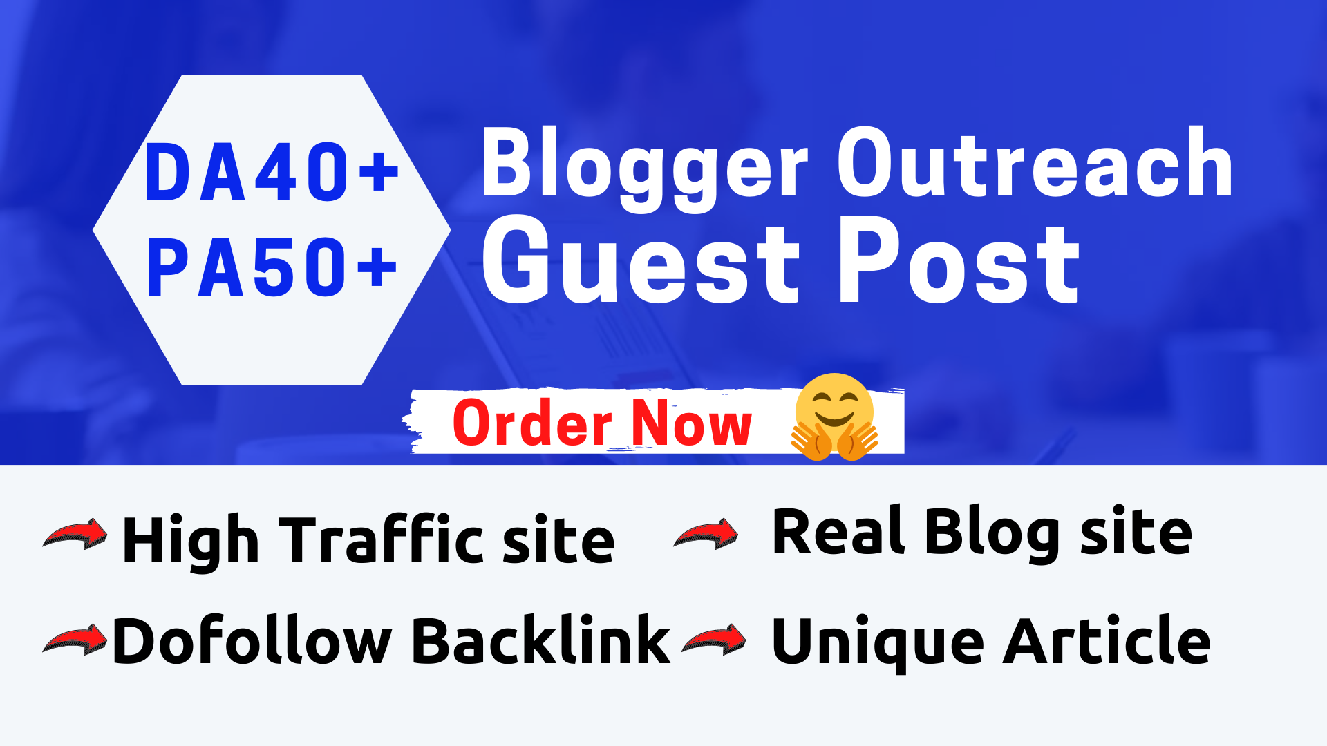 I will publish high quality SEO guest post on high DA, PA Blog site