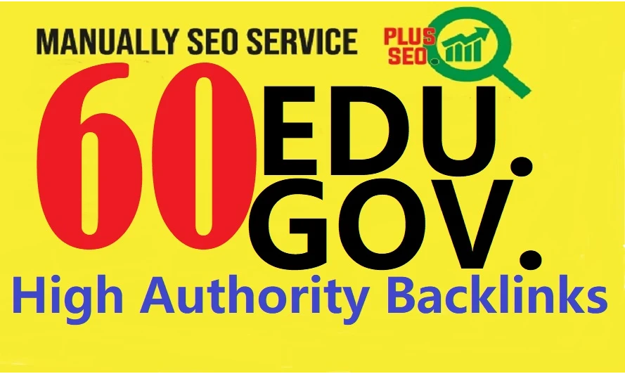 I will do 60 manually high authority pr9, edu dofollow backlinks for off page SEO